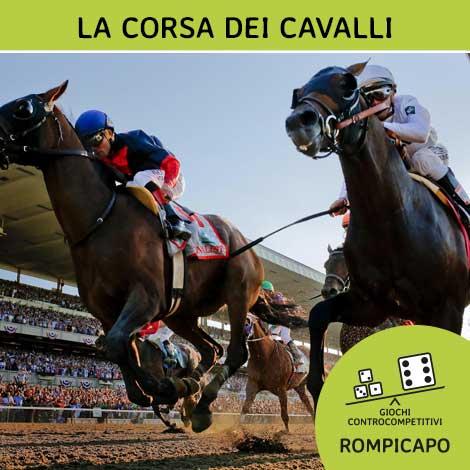 La corsa dei cavalli giochi controcompetitivi for Giochi di cavalli da corsa